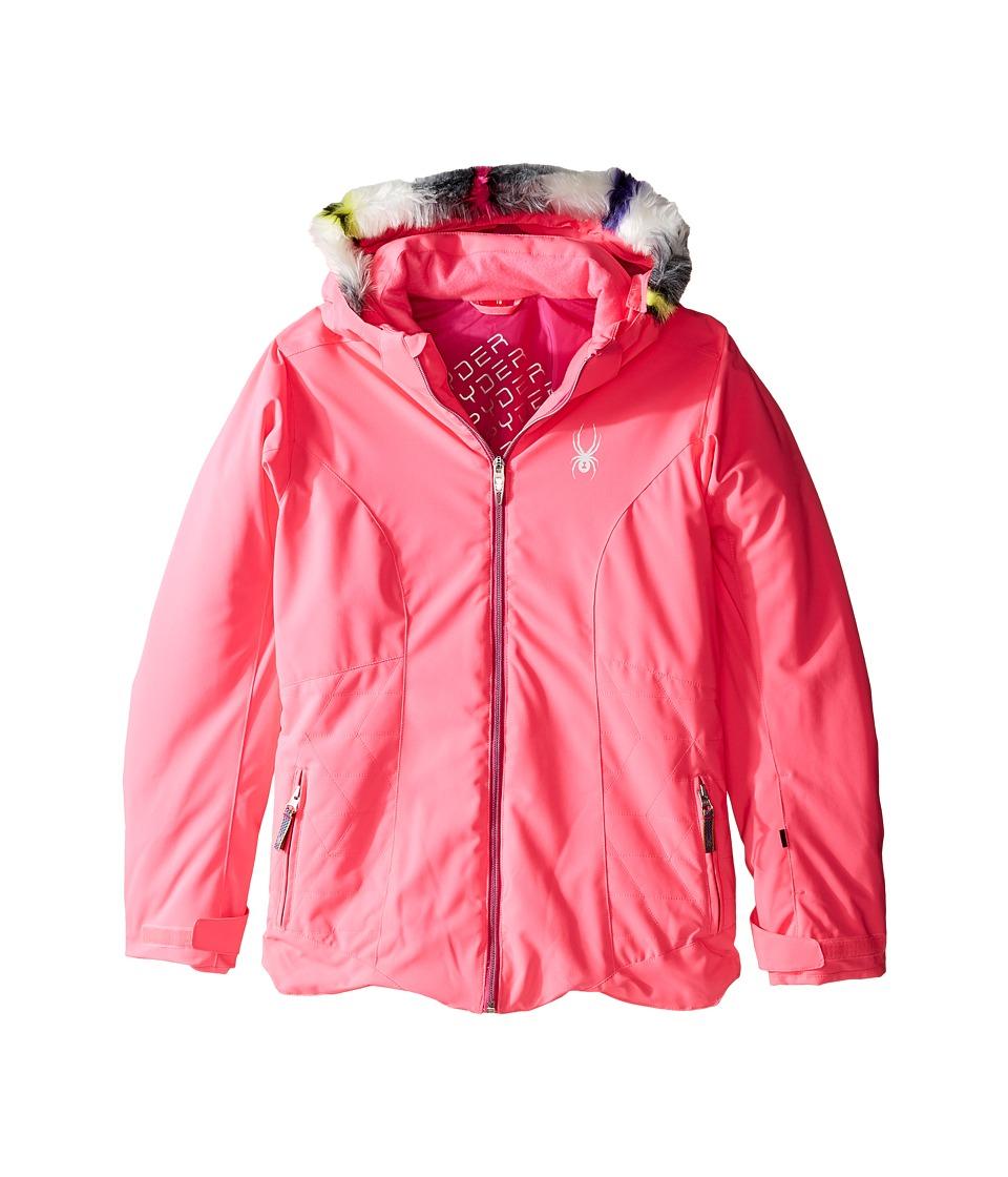 Spyder Kids - Eve Jacket (Big Kids) (Bryte Bubblegum/Voila) Girl's Coat