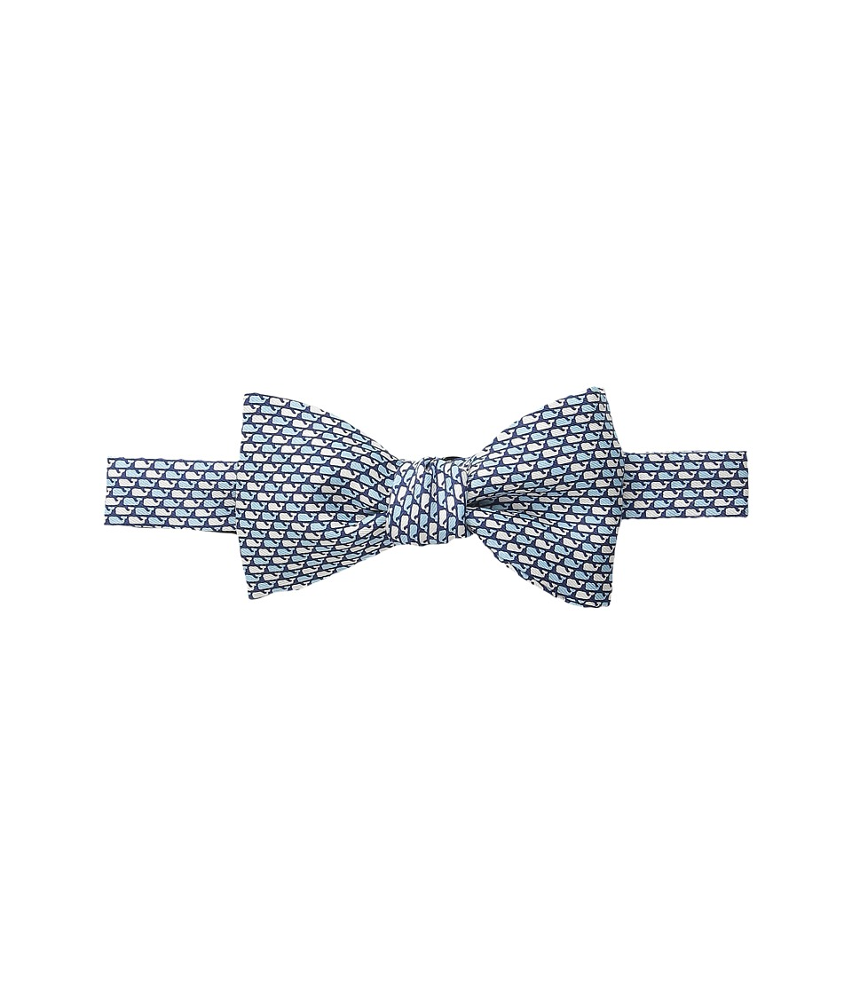 Vineyard Vines - Printed Bow Tie-Whale Pattern (Vineyard Navy) Ties