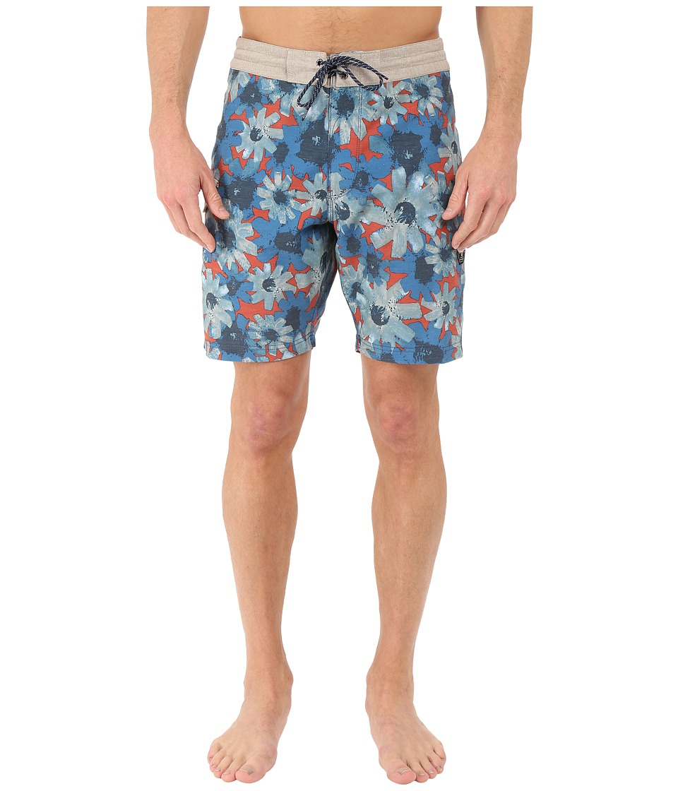 VISSLA - Vendetta 4-Way Stretch Boardshorts 18.5 (Guapo Red) Men's Swimwear