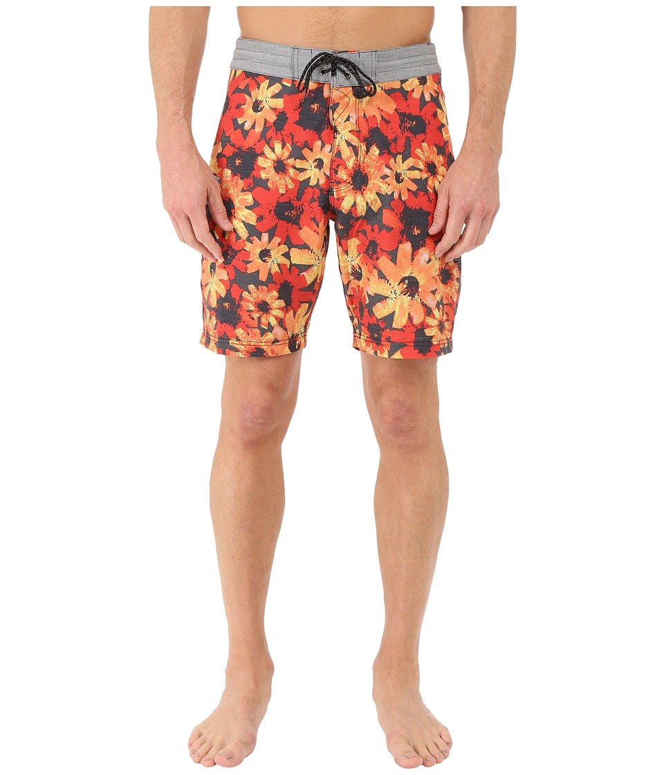 VISSLA - Vendetta 4-Way Stretch Boardshorts 18.5 (Phantom) Men's Swimwear