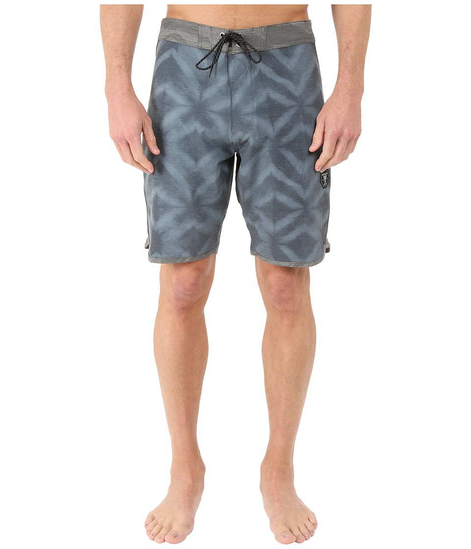 VISSLA - Dye-Mond 4-Way Stretch Boardshorts 20 (Phantom) Men's Swimwear