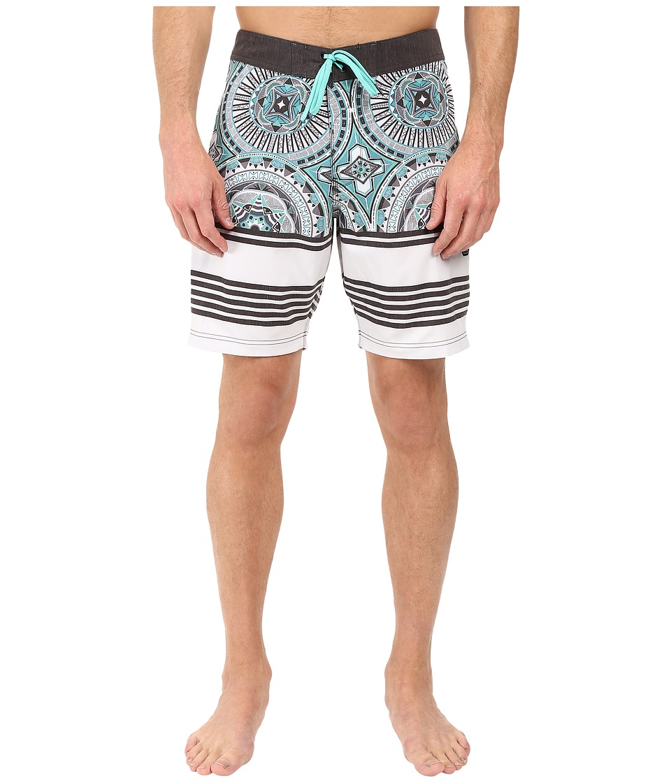 VISSLA - Suicides 4-Way Stretch Boardshorts 18.5 (Jade) Men's Swimwear