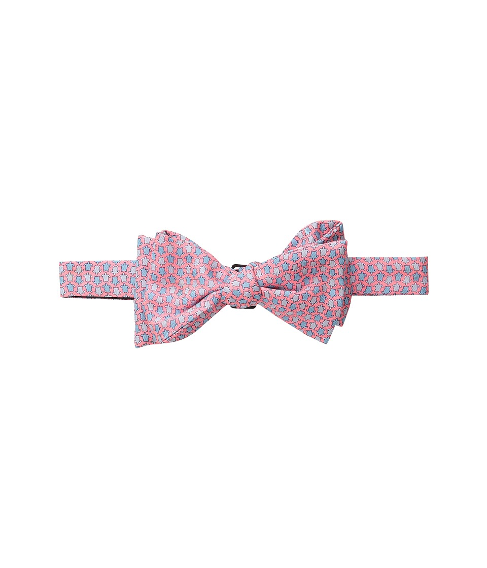 Vineyard Vines - Printed Bow Tie-Turtle Geo (Coral Reef) Ties