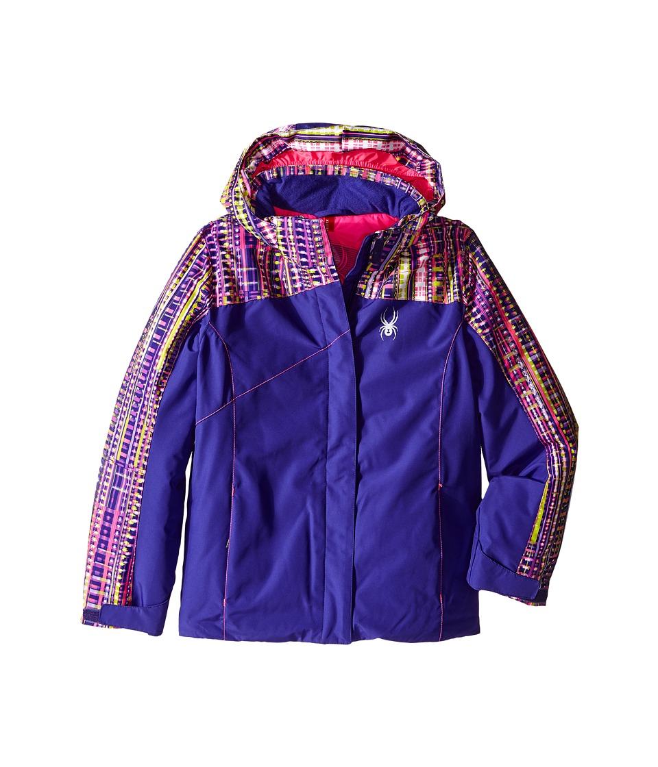 Spyder Kids - Dreamer Jacket (Big Kids) (Pixie/Harmony Acid/Bryte Bubblegum) Girl's Coat