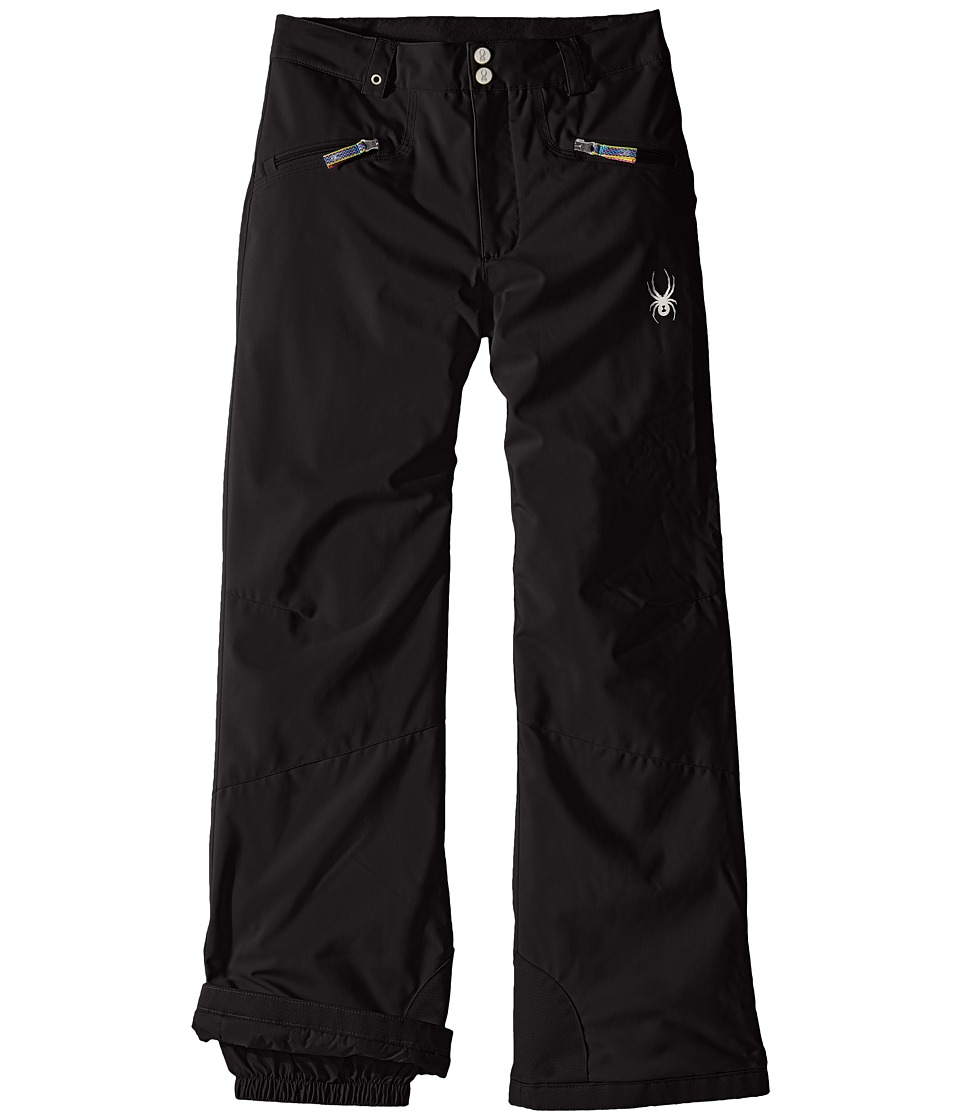Spyder Kids - Vixen Athletic Pants (Big Kids) (Black) Girl's Outerwear