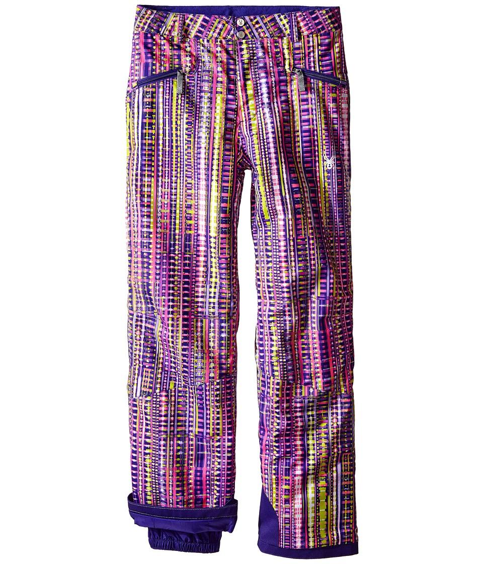 Spyder Kids - Vixen Athletic Pants (Big Kids) (Harmony Acid Print) Girl's Outerwear