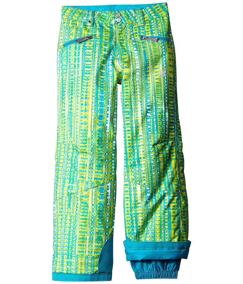 Spyder Kids - Vixen Athletic Pants (Big Kids) (Harmony Bluebird Print) Girl's Outerwear