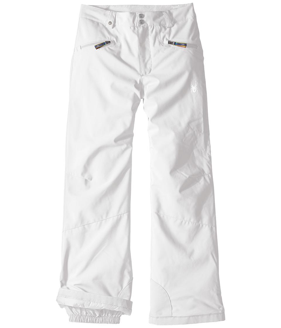 Spyder Kids - Vixen Athletic Pants (Big Kids) (White) Girl's Outerwear