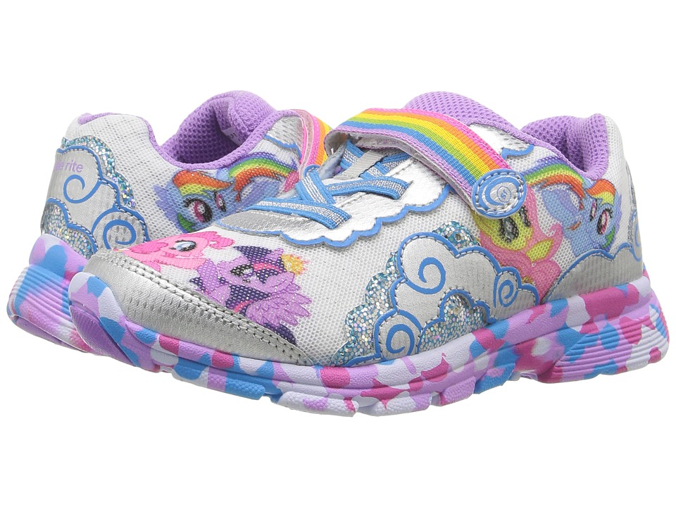 Stride Rite - My Little Pony Equestria (Little Kid) (Silver) Girl's Shoes