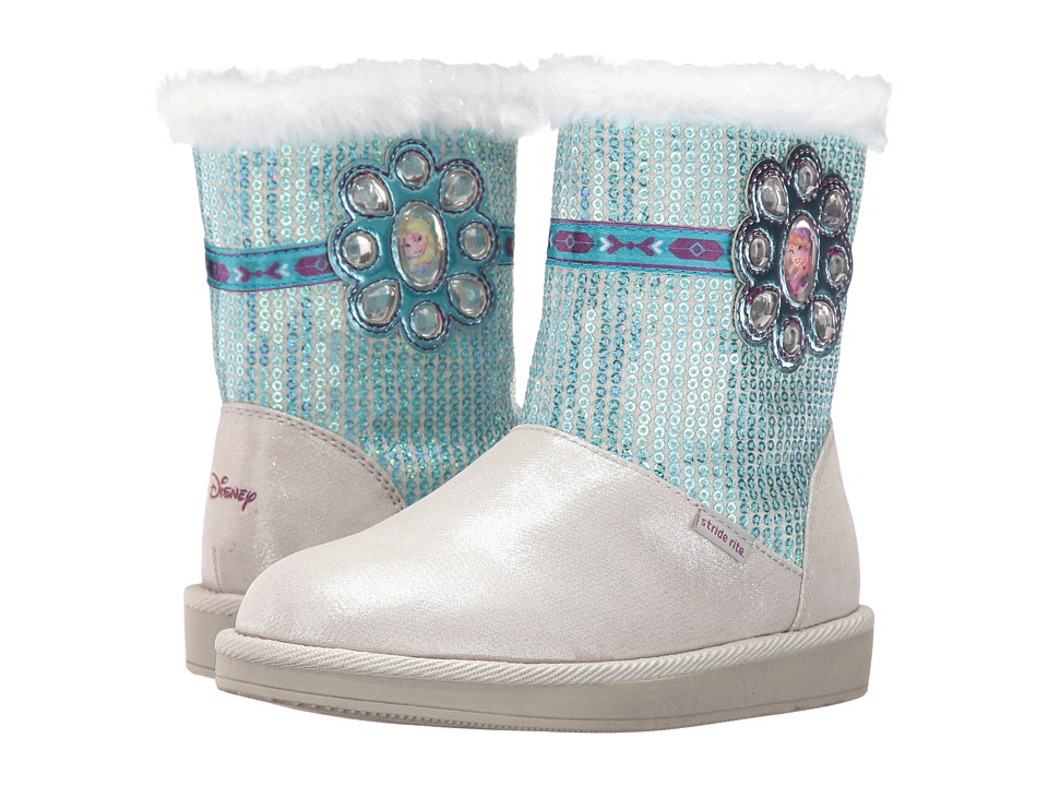 Stride Rite - Disney Frozen Icy Powers (Little Kid) (Silver) Girl's Shoes