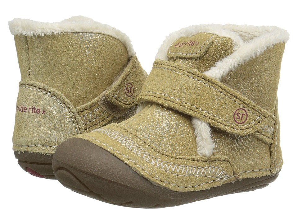 Stride Rite - SM Constance (Infant/Toddler) (Taupe) Girl's Shoes