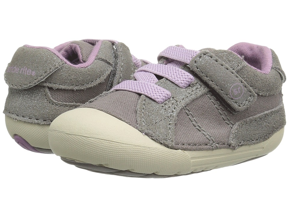 Stride Rite - SRT SM Skyler (Infant/Toddler) (Stone) Girl's Shoes