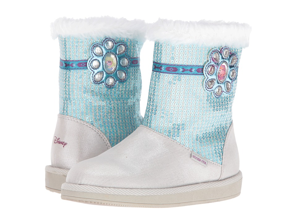 Stride Rite - Disney Frozen Icy Powers (Toddler) (Silver) Girl's Shoes