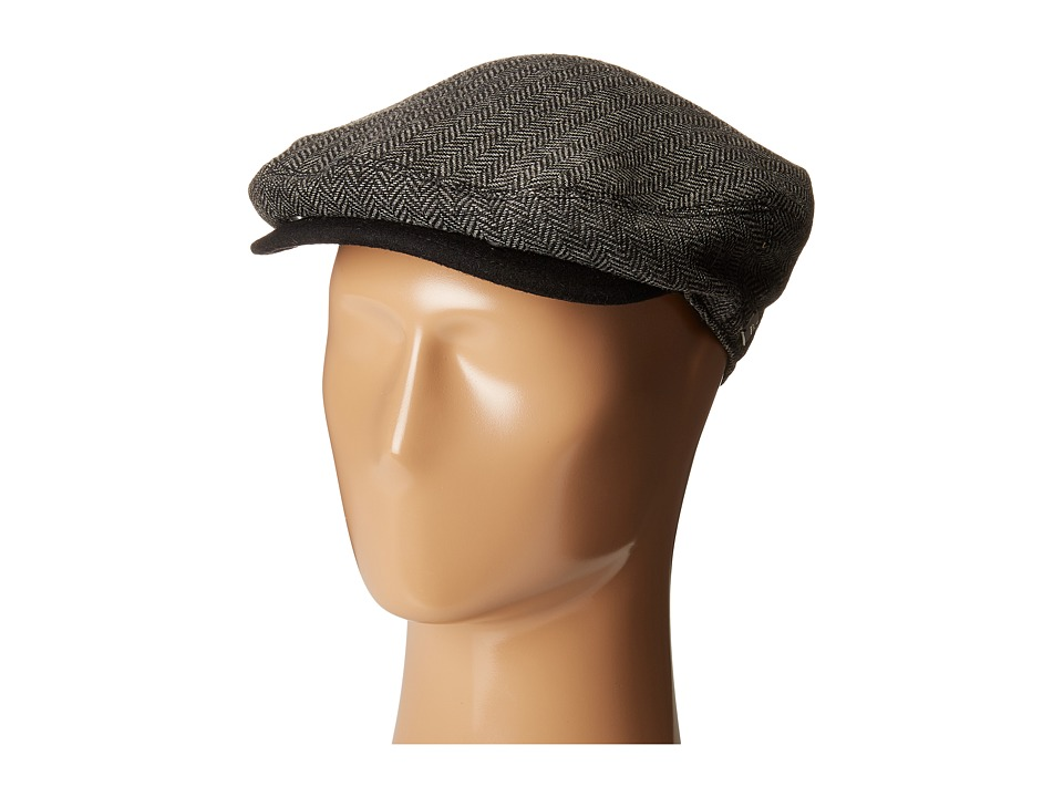 Coal - The Warren (Black Herringbone) Caps