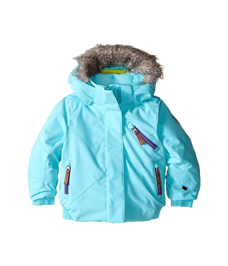 Spyder Kids - Bitsy Lola Jacket (Toddler/Little Kids/Big Kids) (Freeze/Iris) Girl's Coat