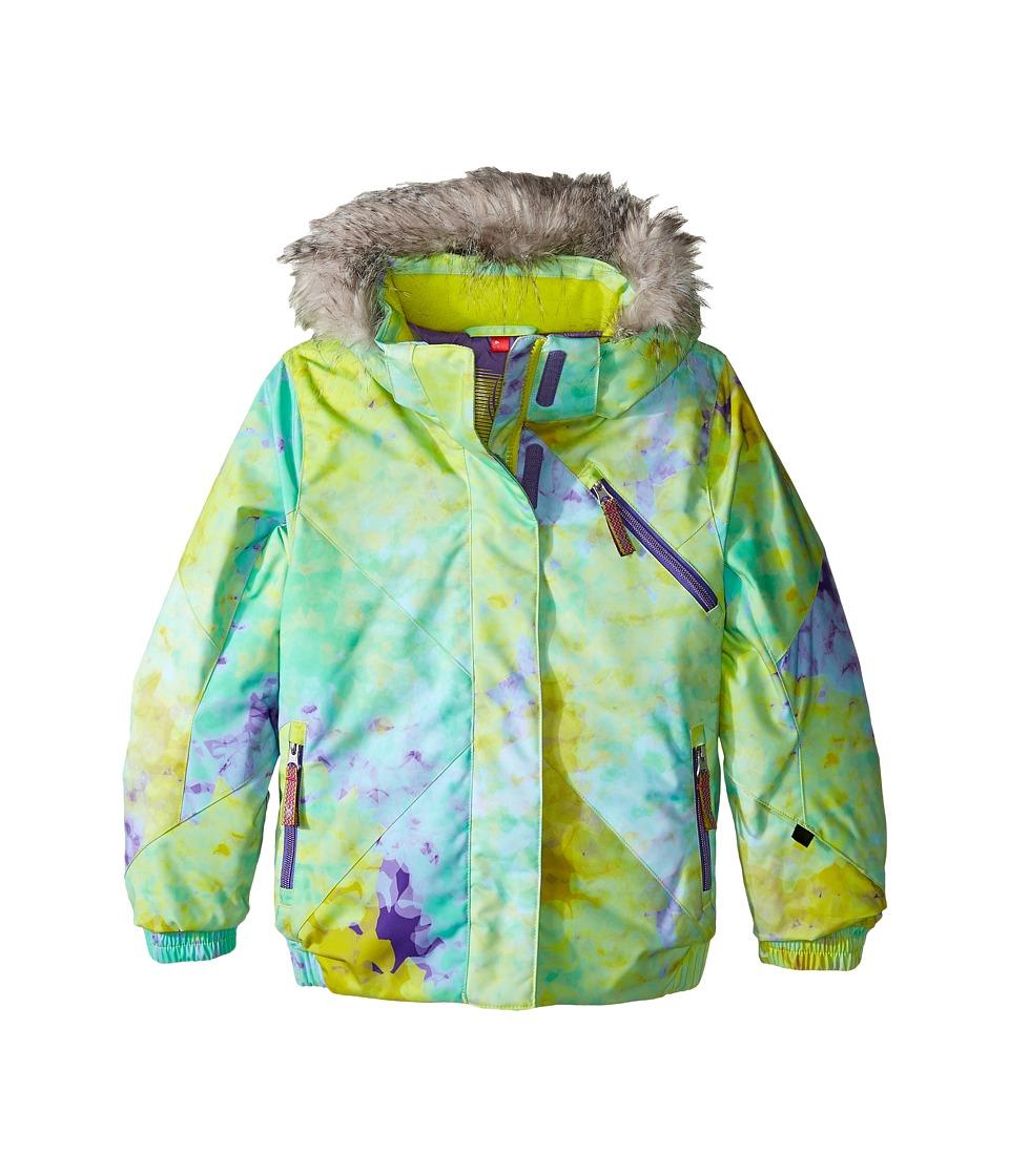 Spyder Kids - Bitsy Lola Jacket (Toddler/Little Kids/Big Kids) (Morning Sky Acid/Iris) Girl's Coat