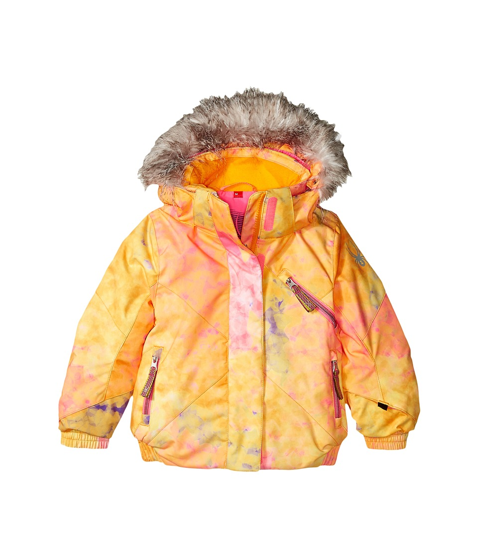 Spyder Kids - Bitsy Lola Jacket (Toddler/Little Kids/Big Kids) (Morning Sky Bryte Bubblegum/Bryte Bubblegum) Girl's Coat