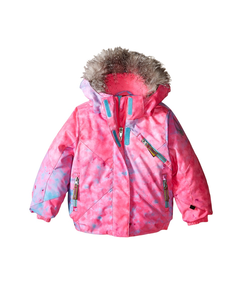 Spyder Kids - Bitsy Lola Jacket (Toddler/Little Kids/Big Kids) (Morning Sky Freeze/Freeze) Girl's Coat