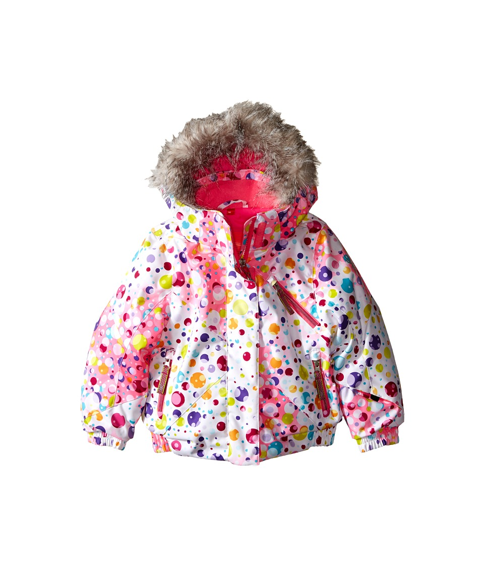 Spyder Kids - Bitsy Lola Jacket (Toddler/Little Kids/Big Kids) (Party Multi/Bryte Bubblegum) Girl's Coat
