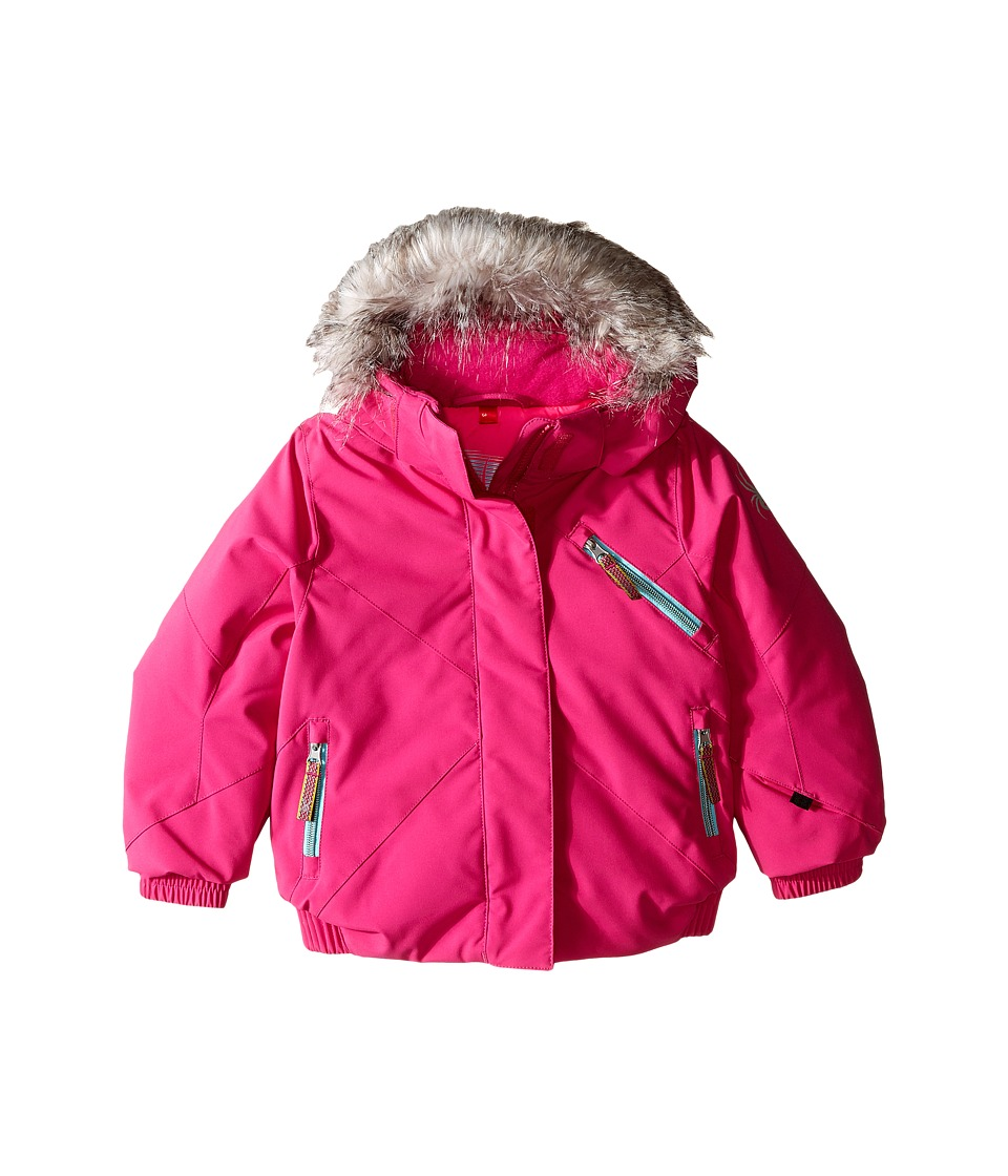 Spyder Kids - Bitsy Lola Jacket (Toddler/Little Kids/Big Kids) (Voila/Freeze) Girl's Coat