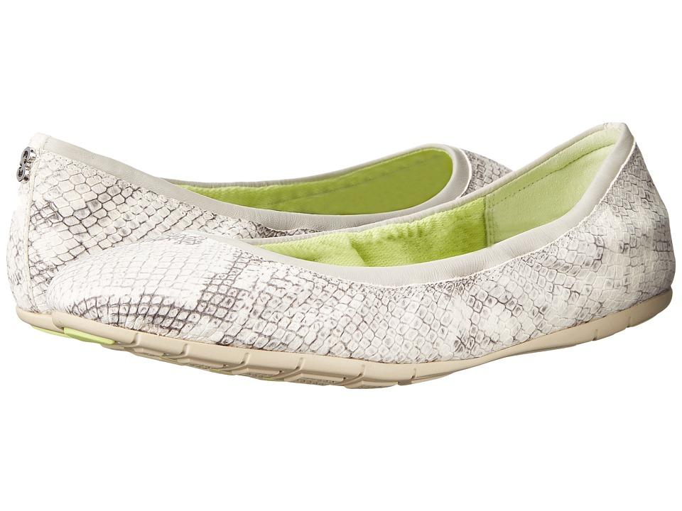 Cole Haan - Zerogrand Stagedoor Stud (Roccia Diamant Snake Print/Oat) Women's Shoes