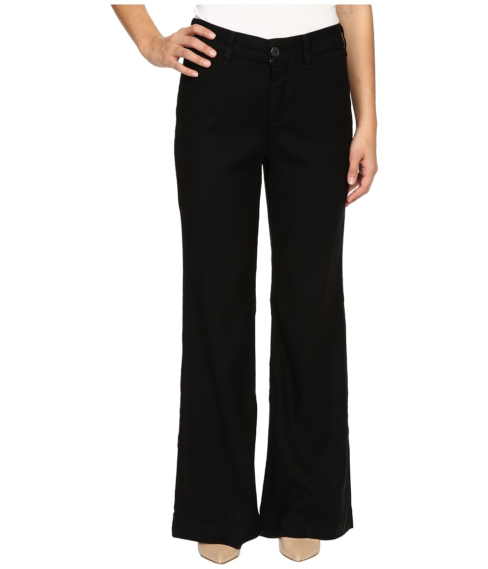NYDJ Petite - Petite Claire Trousers (Black) Women's Casual Pants