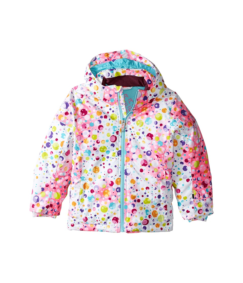 Spyder Kids - Bitsy Glam Jacket (Toddler/Little Kids/Big Kids) (Party Multi/Freeze) Girl's Coat