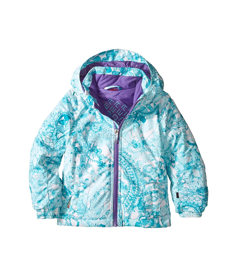 Spyder Kids - Bitsy Glam Jacket (Toddler/Little Kids/Big Kids) (Tacey Freeze/Iris) Girl's Coat