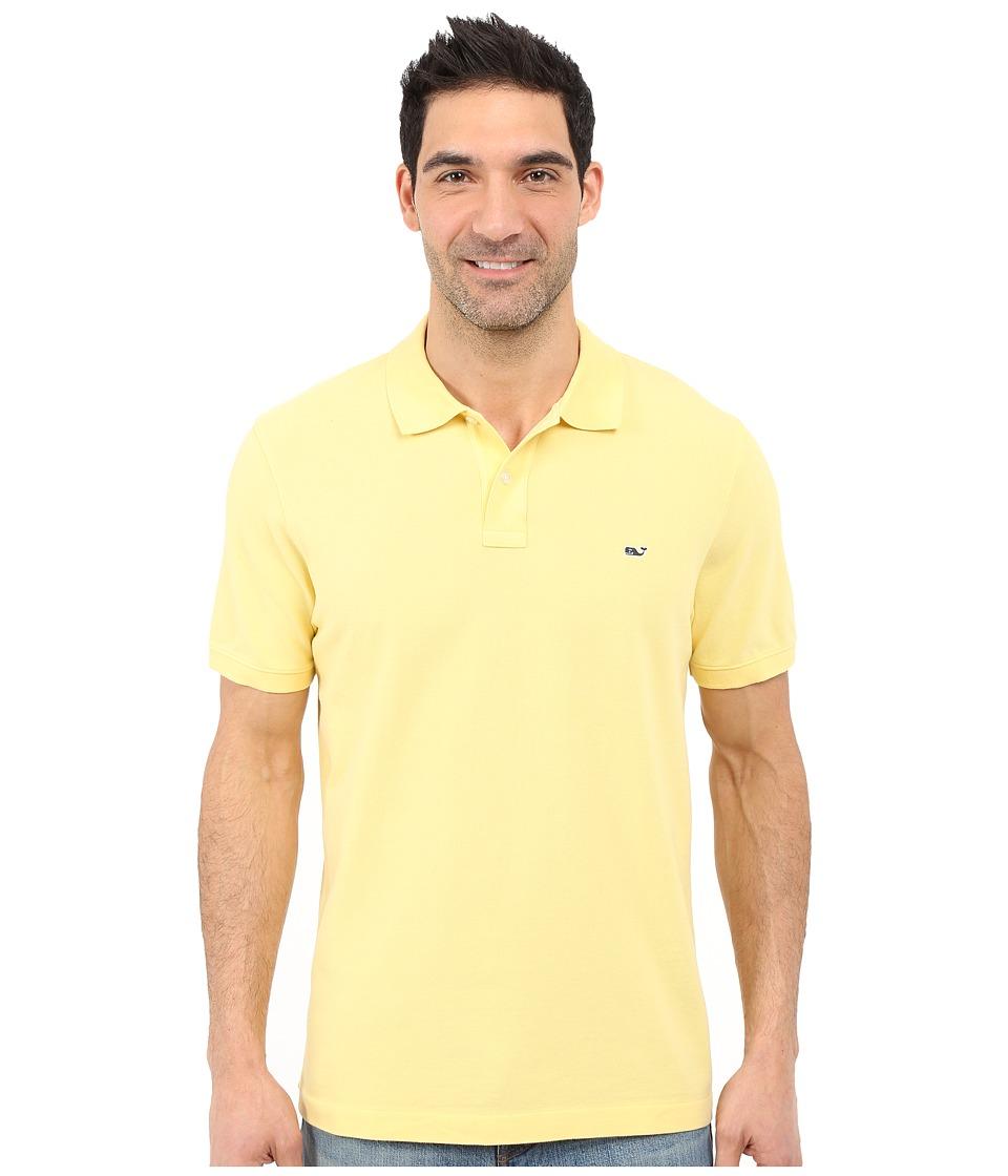 Vineyard Vines - Classic Piqu Polo (Sunny) Men's Short Sleeve Knit
