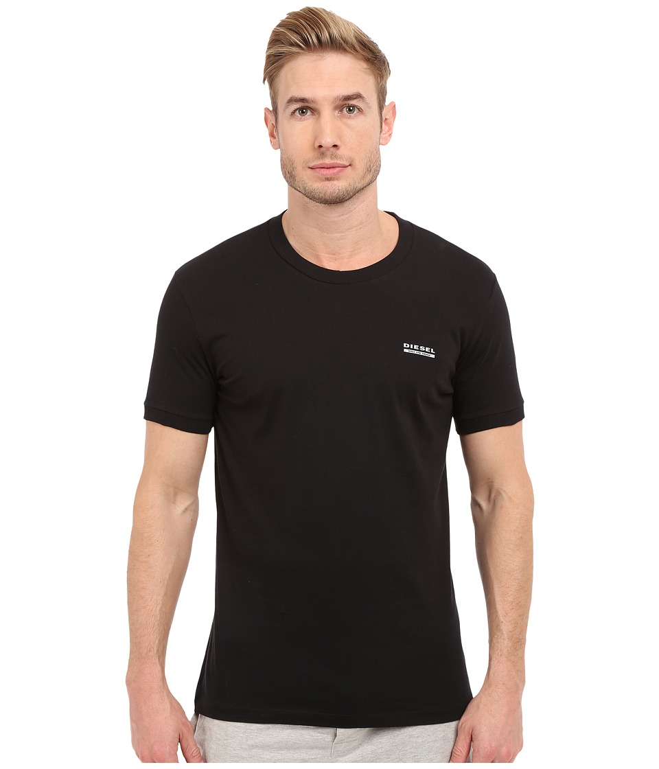 Diesel - Jake T-Shirt CALD (Black) Men's Underwear