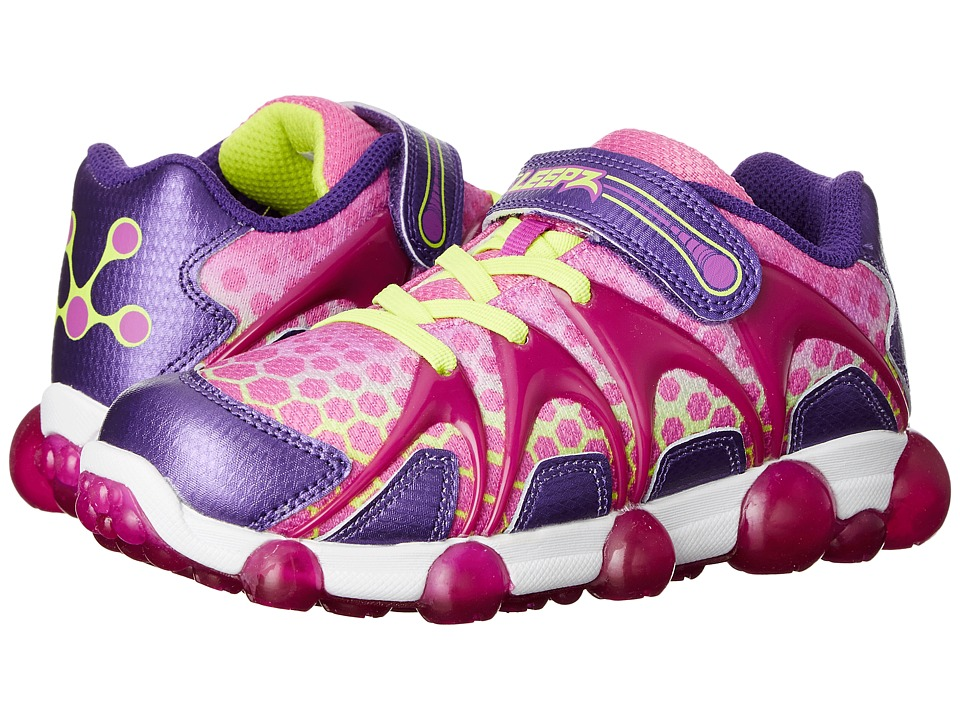 Stride Rite - Leepz (Toddler/Little Kid) (Purple/Lime) Girl's Shoes