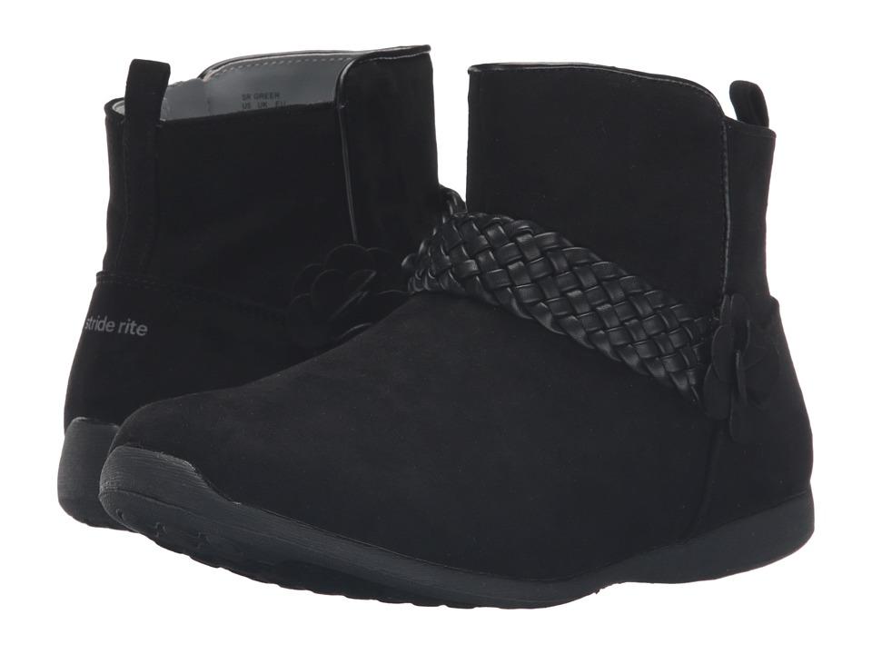 Stride Rite - Greer (Little Kid) (Black) Girl's Shoes