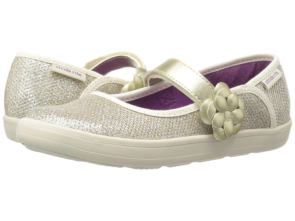 Stride Rite - Marleigh (Toddler/Little Kid) (Gold) Girl's Shoes