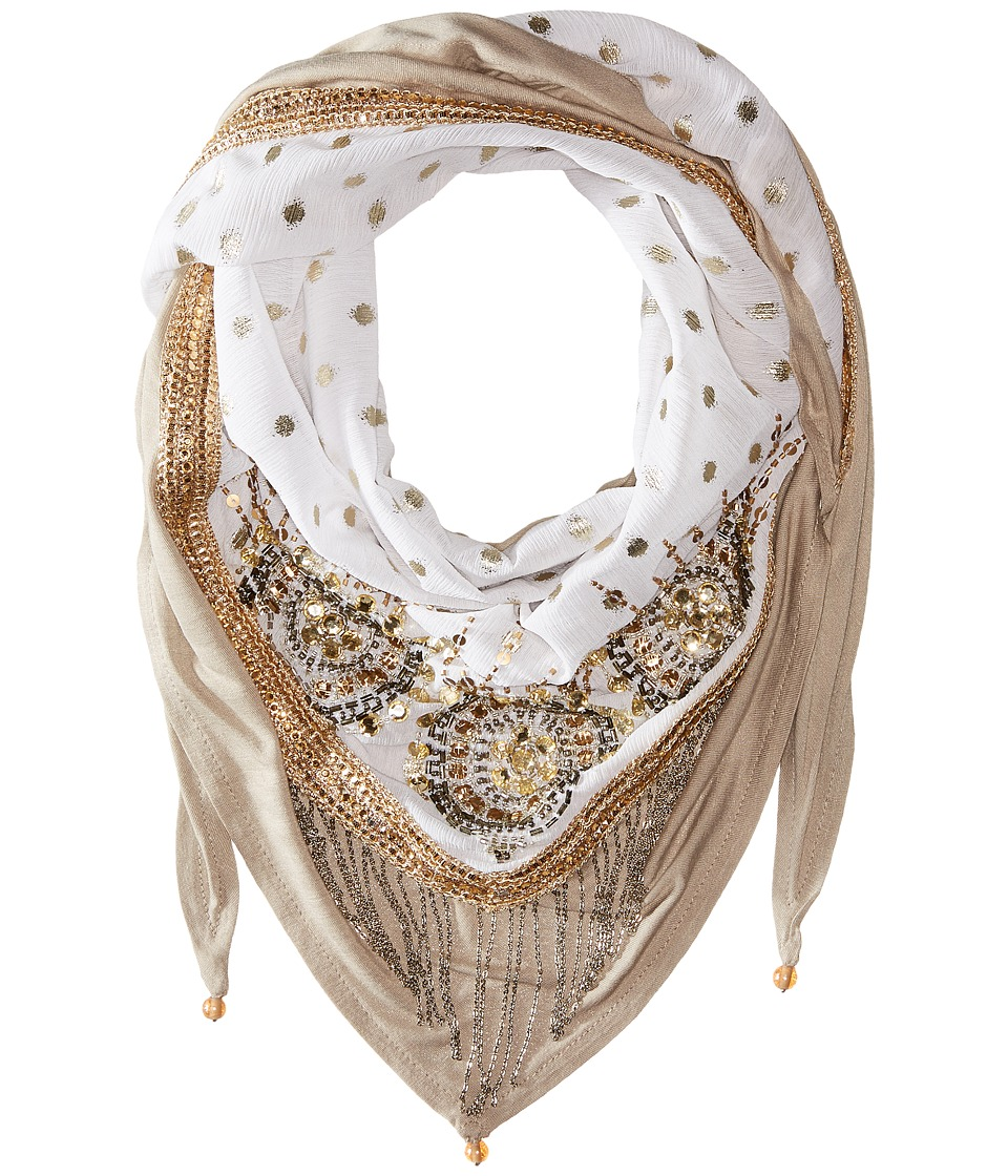 Mary Frances - Sparkle Scarf (Multi) Scarves