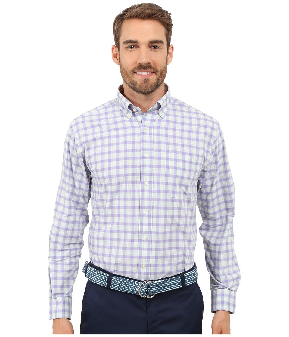 Vineyard Vines - Castlecove Performance Murray Shirt (Sea Urchin) Men's Clothing