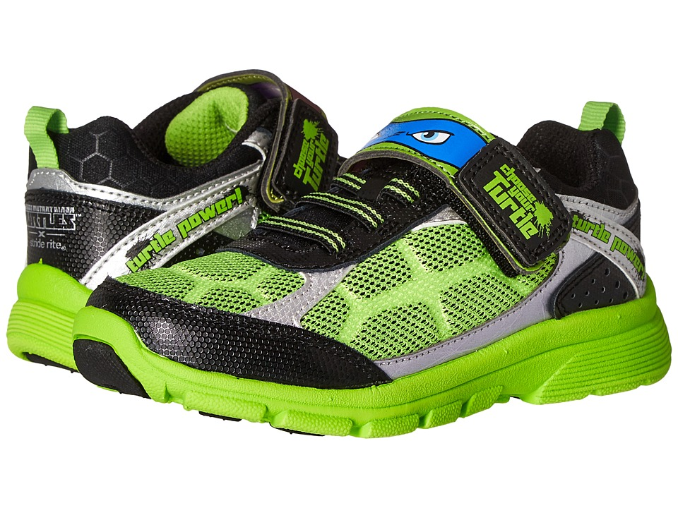 Stride Rite - TMNT Radical Reptiles (Toddler) (Green) Boy's Shoes