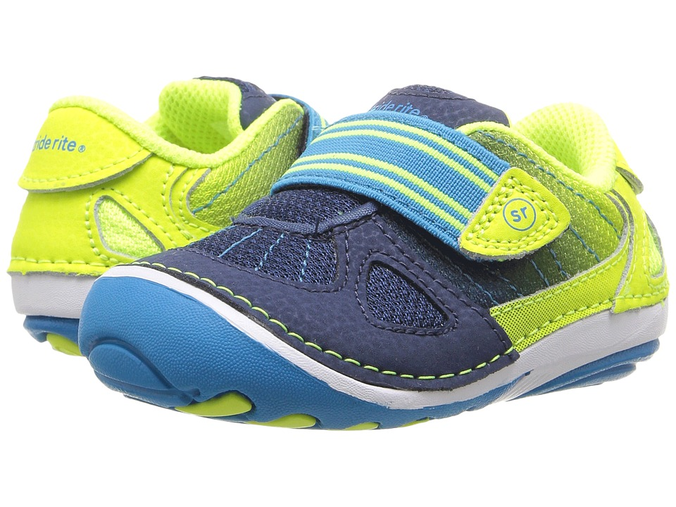 Stride Rite - SRT SM Link (Infant/Toddler) (Multi) Boy's Shoes