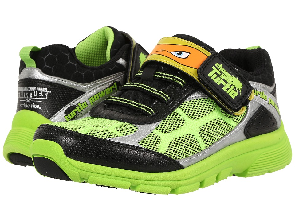 Stride Rite - TMNT Radical Reptiles (Little Kid) (Green) Boy's Shoes