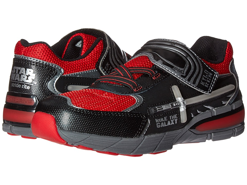 Stride Rite - Star Wars Hyperdrive Kylo Ren (Little Kid) (Black/Red) Boy's Shoes
