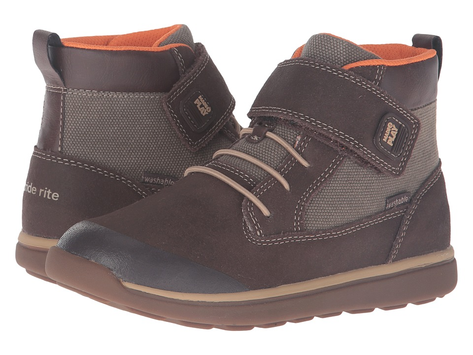 Stride Rite - Made 2 Play Barclay (Little Kid) (Brown) Boy's Shoes