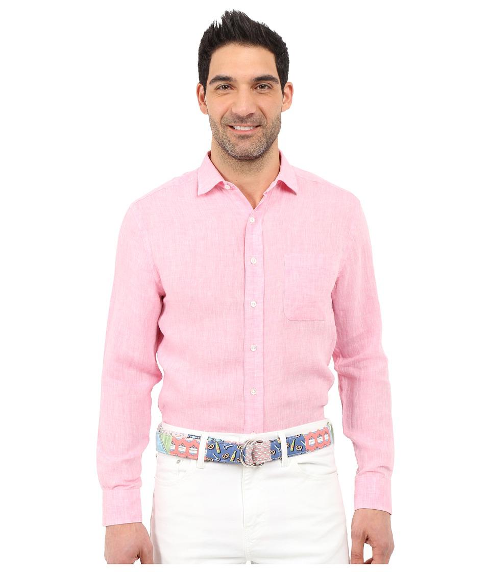 Vineyard Vines - Wintucket Linen Shirt (Bahama Breeze) Men's Clothing
