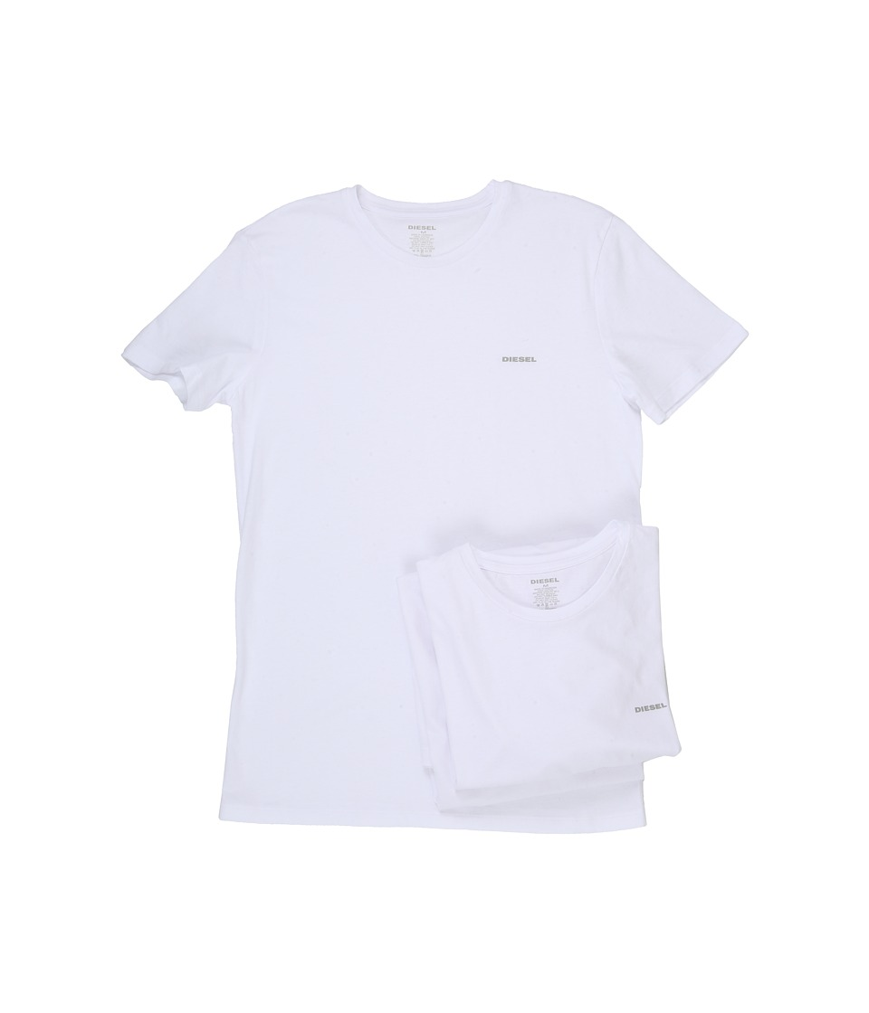 Diesel - Jake 3-Pack AALW (White) Men's Short Sleeve Pullover