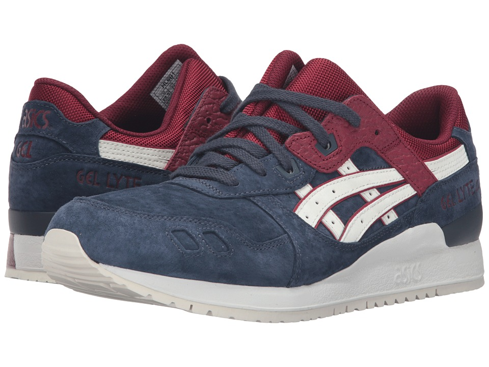 Onitsuka Tiger by Asics - Gel-Lyte III (India Ink/Slight White) Athletic Shoes