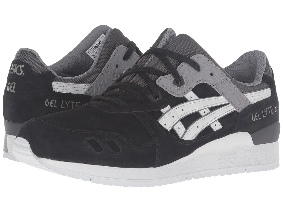 Onitsuka Tiger by Asics - Gel-Lyte III (Black/Soft Grey) Athletic Shoes