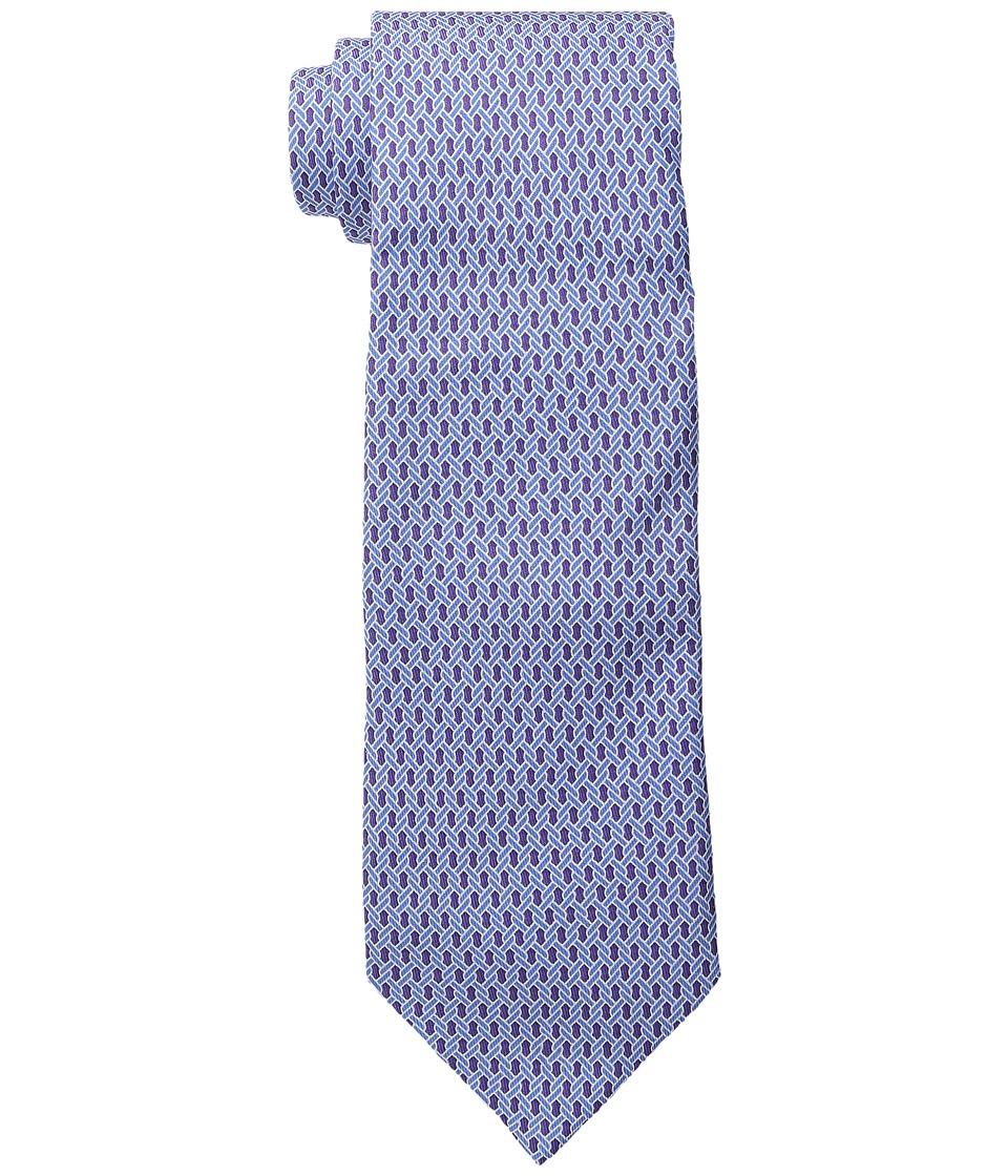 Vineyard Vines - Printed Tie-Ropes Geo (Wisteria) Ties