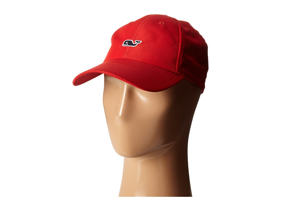 Vineyard Vines - Perf Baseball Hat (Lighthouse Red) Baseball Caps
