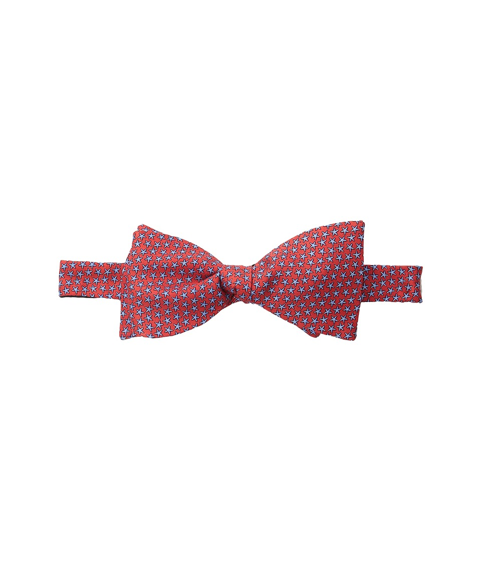 Vineyard Vines - Printed Bow Tie-Starfish Stars (Lighthouse Red) Ties