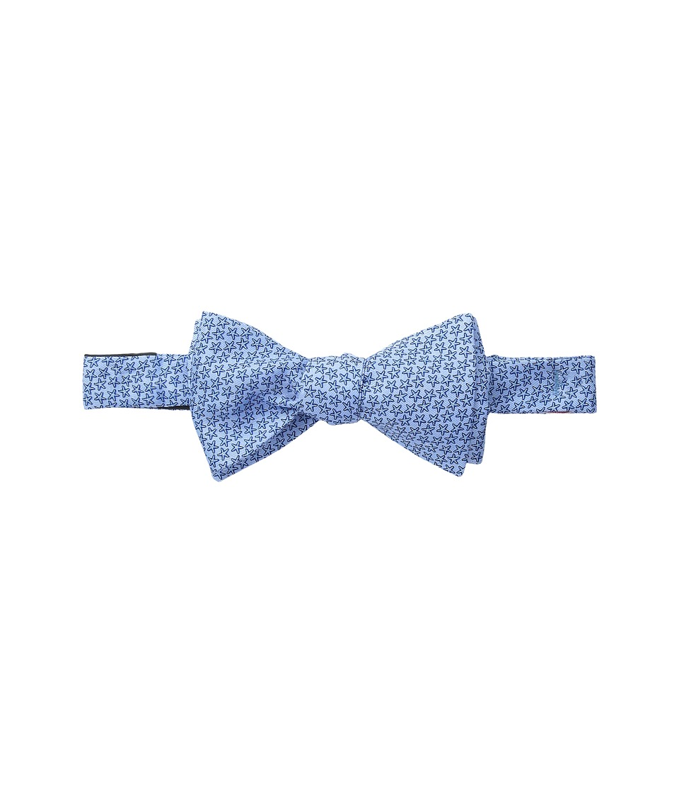 Vineyard Vines - Printed Bow Tie-Starfish Stars (Maui Blue) Ties