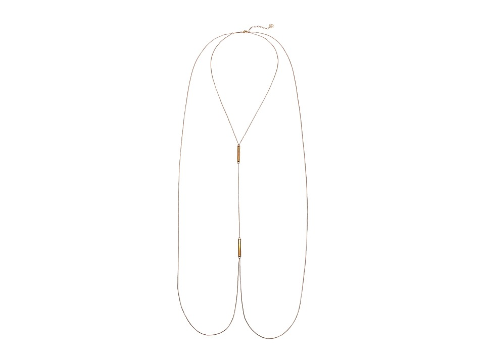 Kendra Scott - James Body Chain Necklace (Rose Gold/Brown Mother-of-Pearl) Necklace