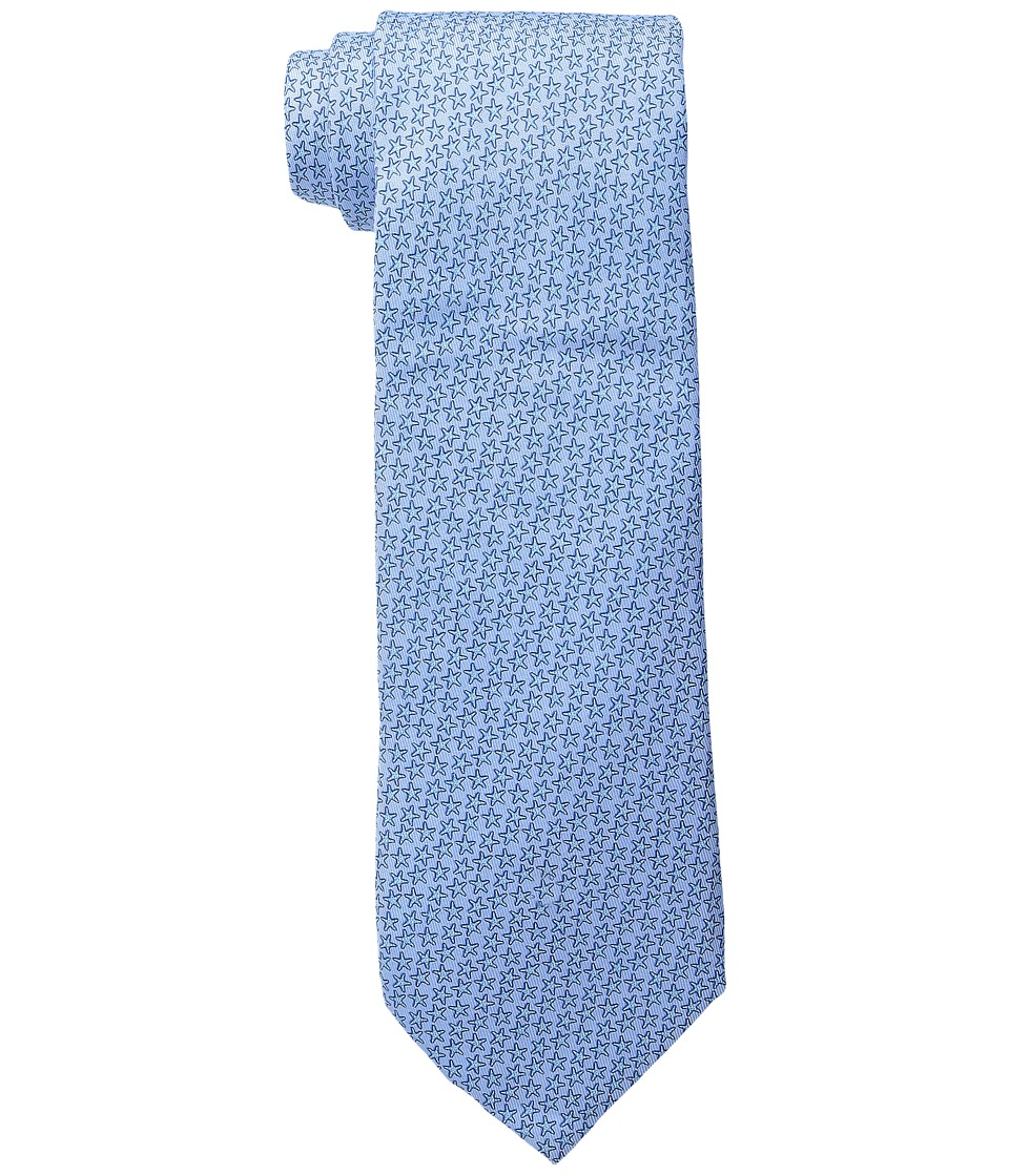 Vineyard Vines - Printed Tie-Starfish Stars (Maui Blue) Ties